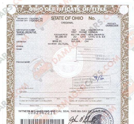 Auto Vehicle Title Corruption
